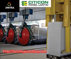 Jual Bata Ringan Malang - 081230065008 Panel Lantai Citicon di Malang