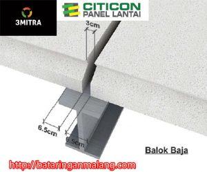 PT. TIGA MITRA SURABAYA - CAB. MALANG Panel Lantai Citicon di Malang