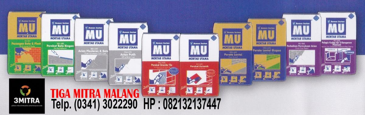 Jual Bata Ringan Malang Jual Semen Mortar MU (Mortar Utama) di Malang