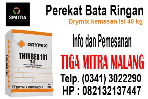 Jual Bata Ringan Malang Jual Perekat Bata Ringan Drymix di Malang