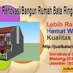 Jual Bata Ringan Malang Renovasi Rumah Dengan Bata Ringan, Semen Mortar dan Panel Lantai di Malang
