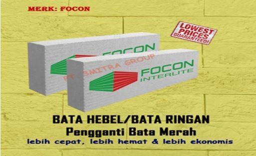 Jual Bata Ringan Malang - 081230065008 Jual Bata Ringan Focon Kepanjen , Jombang, dan Nganjuk