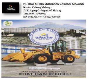 PT. TIGA MITRA SURABAYA - CAB. MALANG JUAL BATA RINGAN  MALANG - Telp. (0341) 3029622